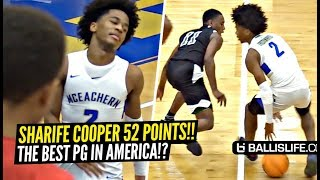 Sharife Cooper SHOCKS EVERYONE & Drops 52 Points!!! DON