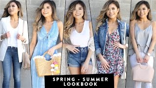 2017 SPRING to SUMMER Transitional Lookbook | Summer Outfit Ideas | Miss Louie