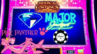 NEW SLOT PINK PANTHER MYSTICAL FORTUNES ⭐️HANDPAY MAJOR JACKPOT ⭐️LOCK IT LINK SLOT MACHINE