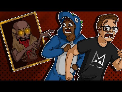 Gmod Scary Maps Funny Moments - JUMPSCARES GALORE, Painting Boss FIGHT!