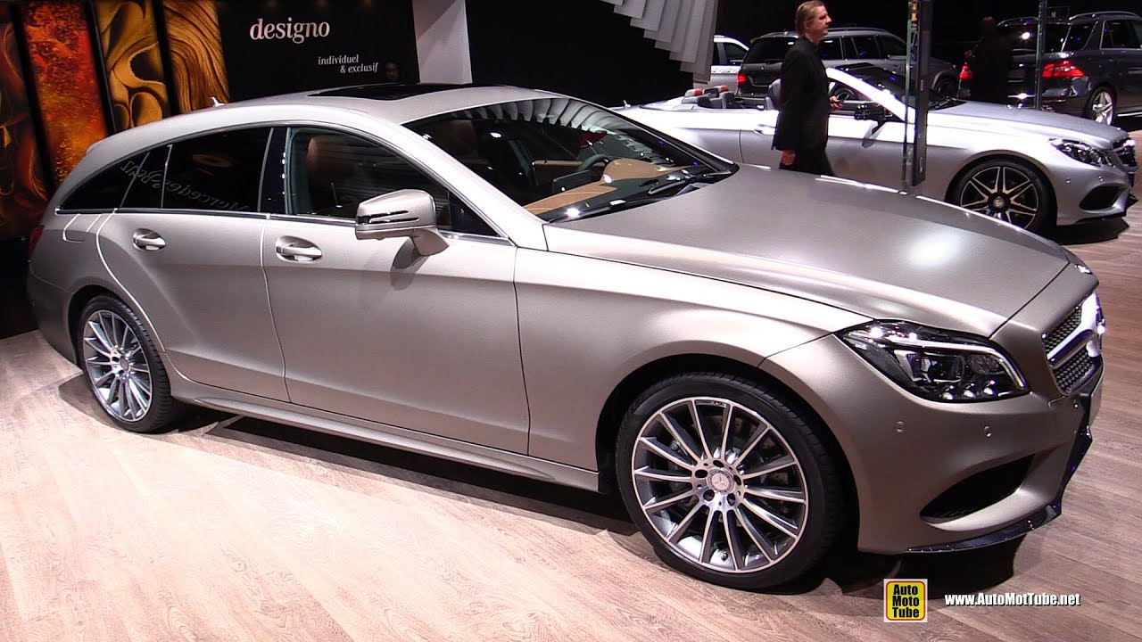 2015 MercedesBenz CLSClass Shooting Brake CLS350 BlueTec