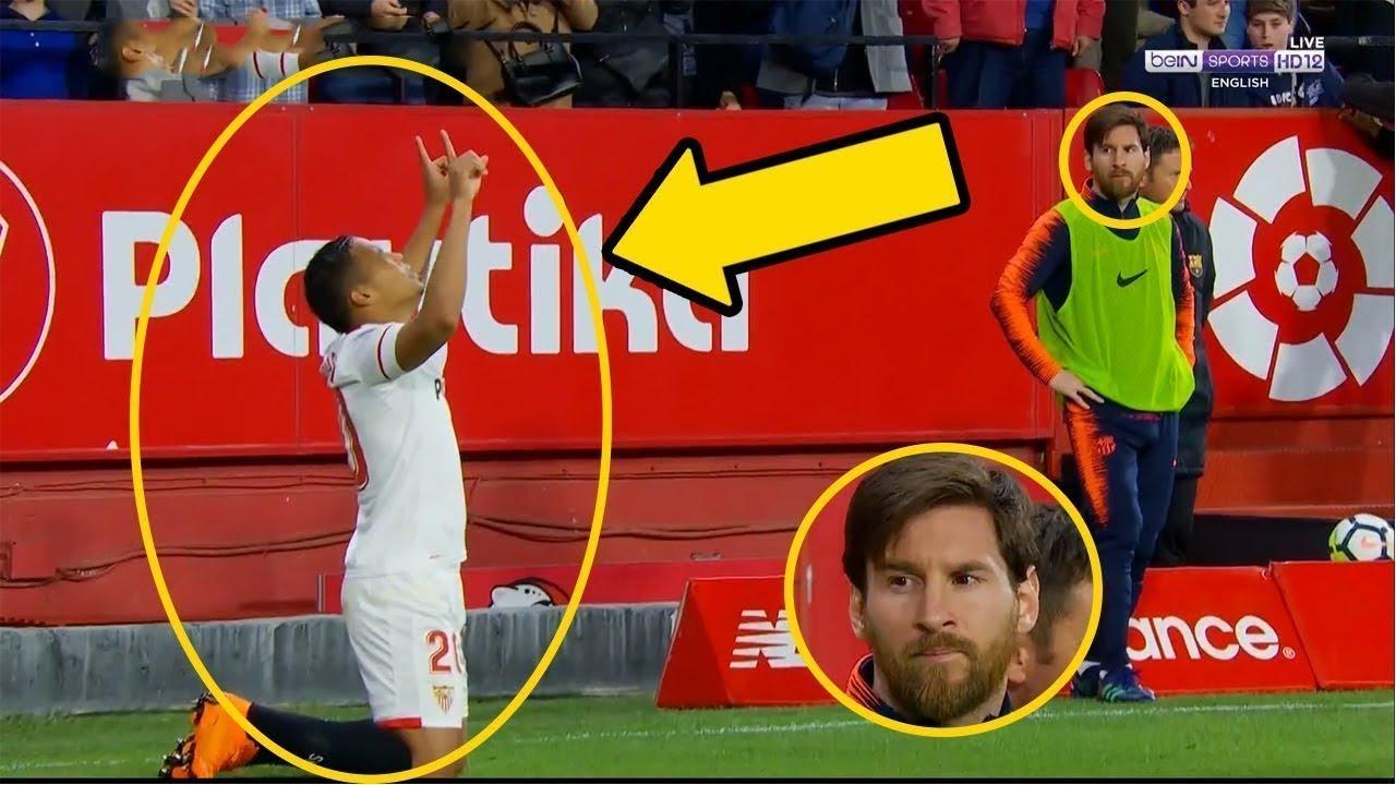 Bunu Messi'nin Önünde Yapmaya Cesaret Edince, Aldığı Sonuçları İzleyin.