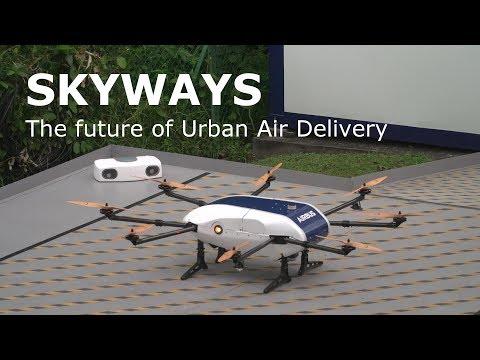 'Skyways' drone - first flight demonstration