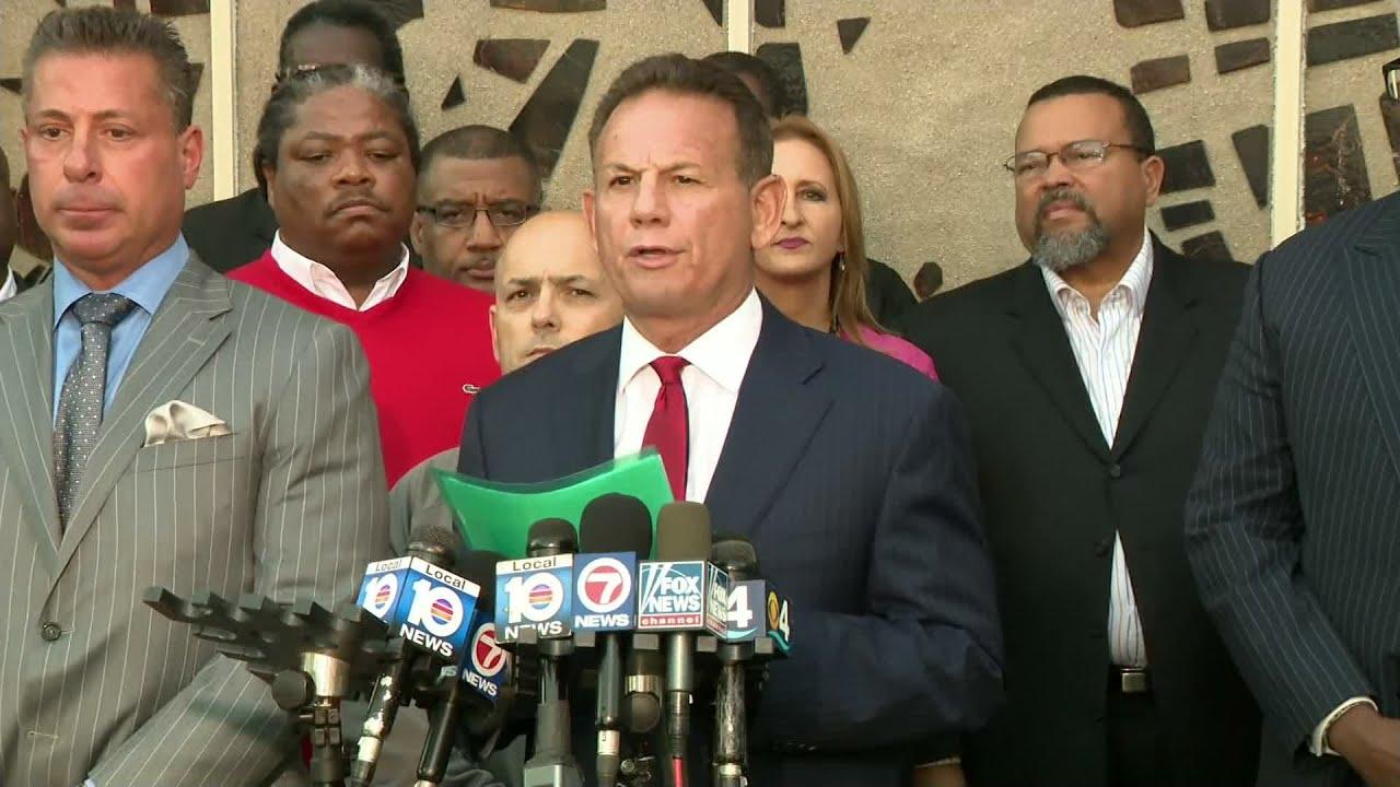 WEB EXTRA: Ousted Broward Sheriff Scott Israel Addresses Media