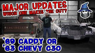Major Update on the '69 Caddy engine & '63 C30 Rolls engine swap. Which makes the CAR WIZARD's cut?