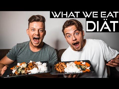 WHAT WE EAT IN A DAY | Gyrosteller In Der DIÄT!!