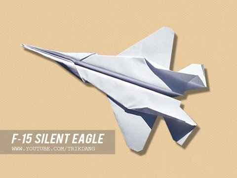 How to make a eagle paper plane that flies