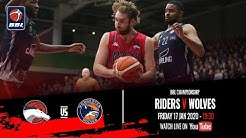 2019-20 BBL Championship: Leicester Riders v Worcester Wolves - 17 Jan 2020