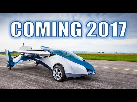 Flying Cars Are Coming In 2017