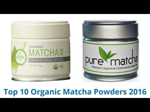 10 Best Organic Matcha Powders 2017