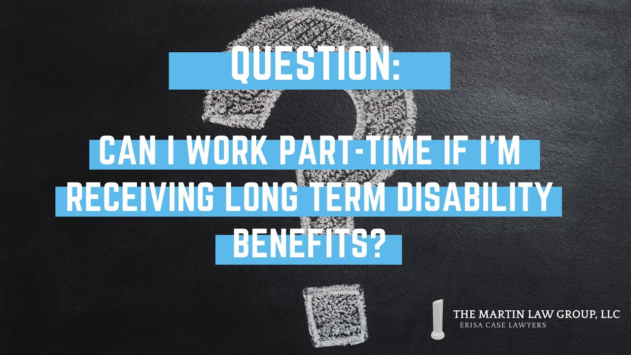 #FAQuesday: Can I work part-time while receiving LTD?