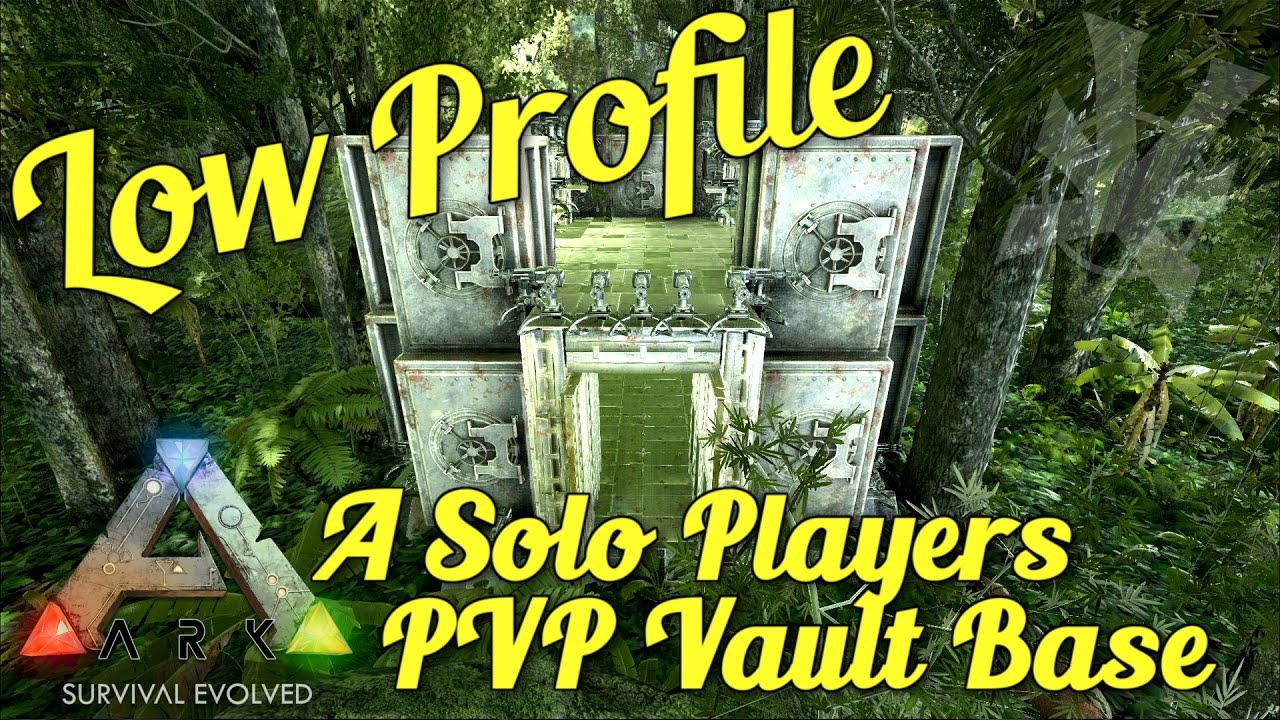 Best Solo Pvp Ark Build