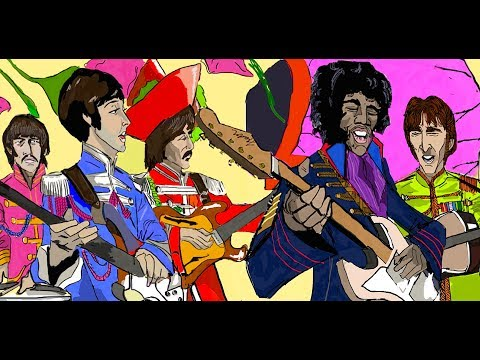 Jimi Hendrix - Sgt Peppers Lonely Hearts Club Band