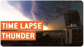 Toronto Thunder Storm Time Lapse | Storm Warning