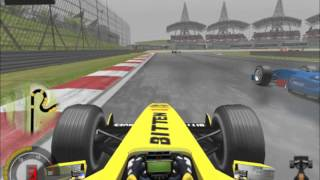 Grand Prix 4 Gameplay (Wet Malaysian GP)