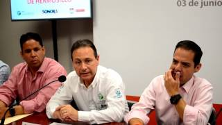 Firma Ayuntamiento de Hermosillo convenio con CEDES