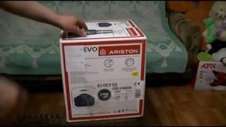 Распаковка Бойлера ARISTON BLU EVO R 153 из Rozetka.com.ua