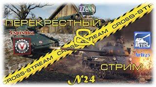 Cross-Stream №24: Arti25 и Vspishka