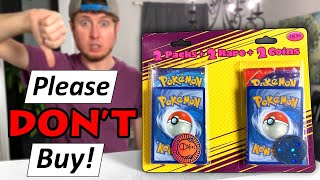 Please DON'T BUY These 5 Pokemon Cards Items! (Watch This Opening)