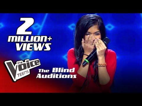 Dilmi Sachinika   Chahun Main Ya Na   Blind Auditions  The Voice Teens Sri Lanka