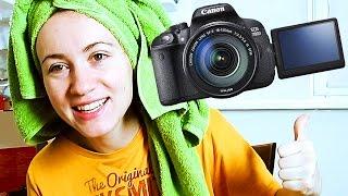 Canon 700D видео ютуб — зеркальный фотоаппарат для съемки бьюти видео(Обзор камеры Canon 700D = Canon T5i video beauty, зеркалка для съемки видео ютуб, распаковка, первые впечатления ▻Наш сайт:..., 2014-12-14T13:22:11.000Z)