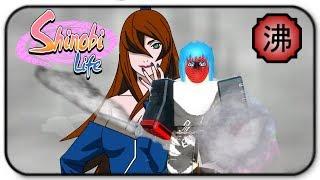 ROBLOX Shinobi Life-Steam Kekkei Genkai Gameplay