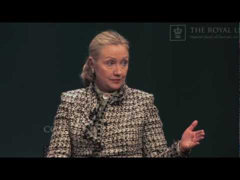 Hillary Clinton at Students Only! in The Black Diamond - The Royal Library, Copenhagen Part 2