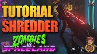 Como montar a arma especial SHREDDER no Zombies in Spaceland! (Tutorial Wonder Weapon)