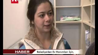 Belediye'den  Ev Hanımları İçin, El işi Satış Noktası Açıldı