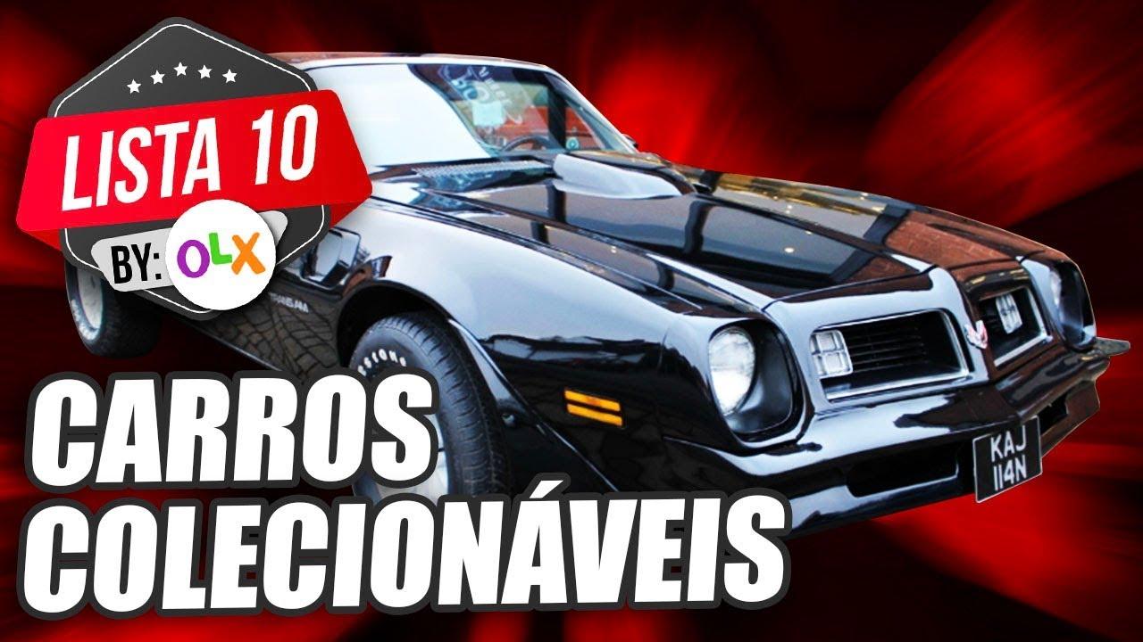 10 CARROS COLECIONÁVEIS (By OLX)