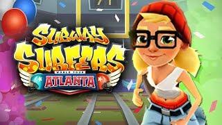Subway Surfers Atlanta Android Gameplay #2