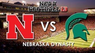 NCAA 13: Nebraska Cornhuskers vs. Michigan State Spartans