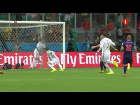 The Fall of Spain vs Netherlands World Cup 2014