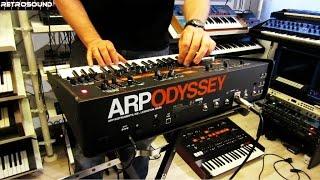 KORG ARP ODYSSEY Synthesizer (2015) - single sound demo