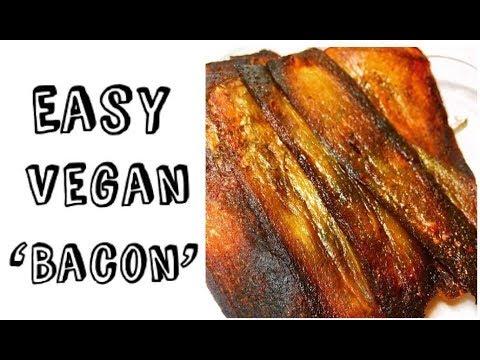 Bacon Eating Vegan | Vegan Bacon Recipe | Vegan Eggplant Bacon