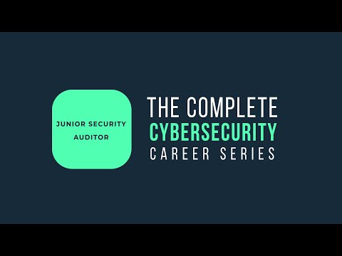 What Does A Cybersecurity Auditor Do? | Complete Career Series Cybersecurity