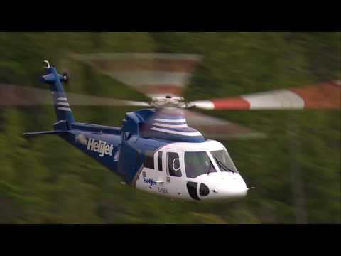 HeliJet Operates a Scheduled Helicopter Airline with Sikorsky's S-76C+ – AINtv