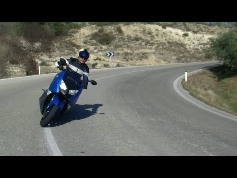 2012 BMW C 600 Sport in action with Tor Sagen