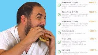 1 Dakikada En Pahalı Yemeği Kim Sipariş Edecek?