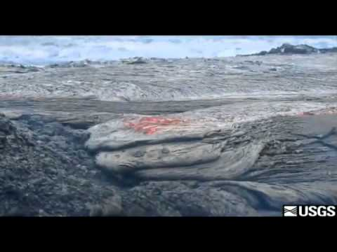 New Hawaii volcano lava flow -- August 4, 2011 Big Island Video News