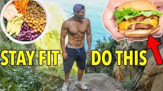 How to Stay Lean Eating Anything on Vacation (vlog)