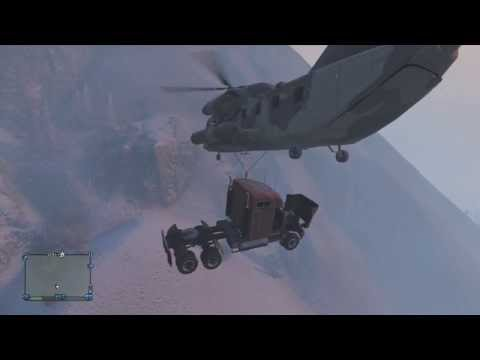 Grand Theft Auto 5 | Tomcat's Christmas Special | Part 3 | Cargobob and Semi Truck!