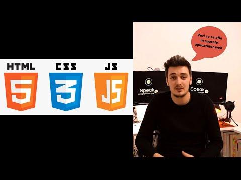 Ce Se Ascunde In Spatele Paginilor Web. Tutorial HTML CSS JS. SP-1.1 ROMANA
