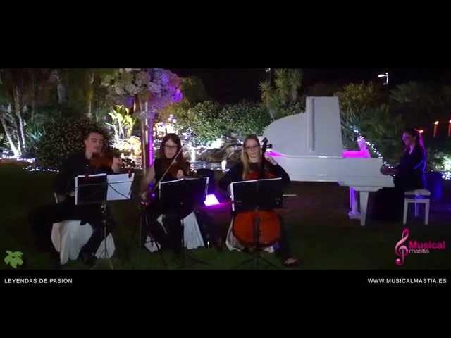 Leyendas de Pasion Horner Piano y trio de cola Casón de la Vega Bodas Alicante Orihuela
