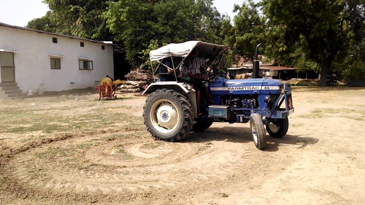 Tractor 360 Stunt !