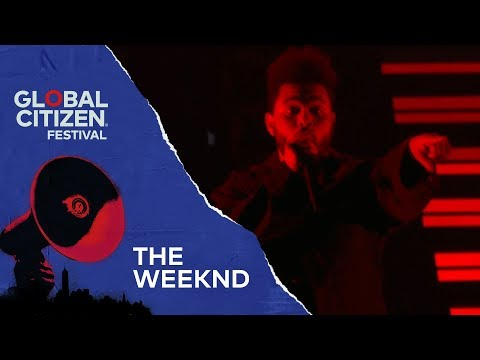 The Weeknd Performs Party Monster | Global Citizen Festival NYC 2018