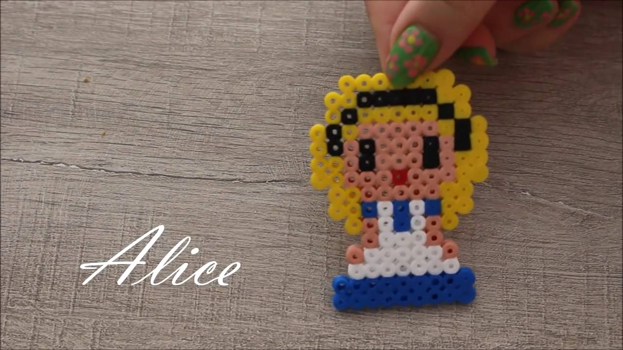 Diy Princesses Disney En Perles Hama Disney Princess Perler