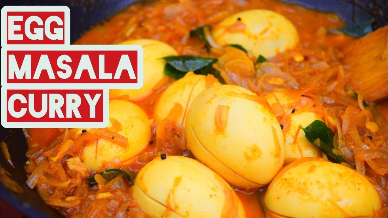 അപ്പത്തിനും പൊറോട്ടക്കും പറ്റിയ ടേസ്റ്റിയായ  മുട്ട മസാല കറി.  Egg masala curry.