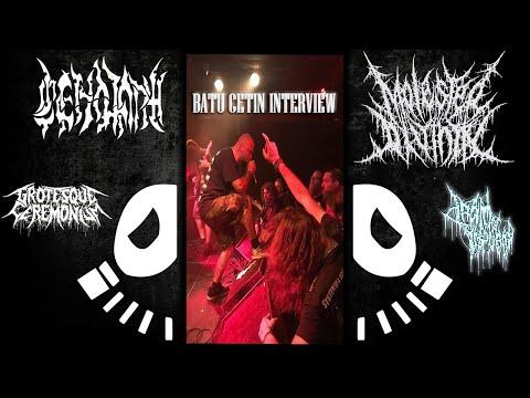Batu Cetin (Cenotaph | Molested Divinity | Grotesque Ceremonium) Interview #6 - Extreminal TV