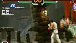 SVC: Chaos. SNK Vs. Capcom combo video